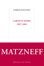 Carnets noirs 2007-2008